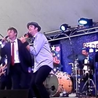 Singing with Darren Percival at Redfest Sept 2016