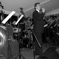 Performing with swing legend John Morrison