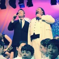 Me performing with David De Vito