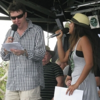 Soundcheck with Jessica Mauboy at Redlands